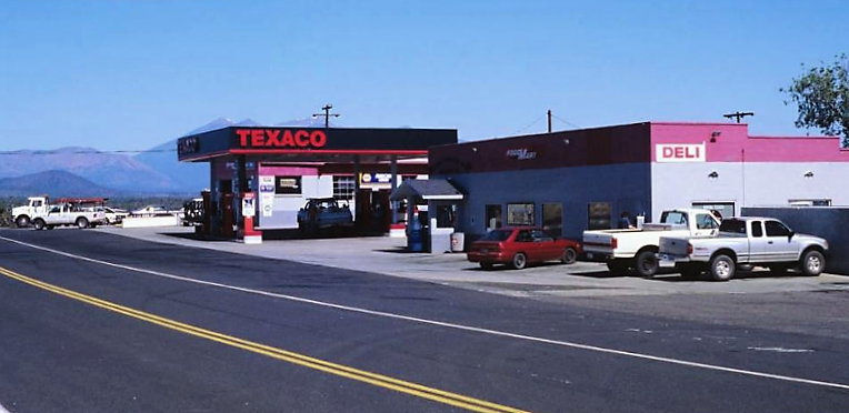 Texaco GAs Station 1996