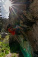 Arthur's Rock Bouldering