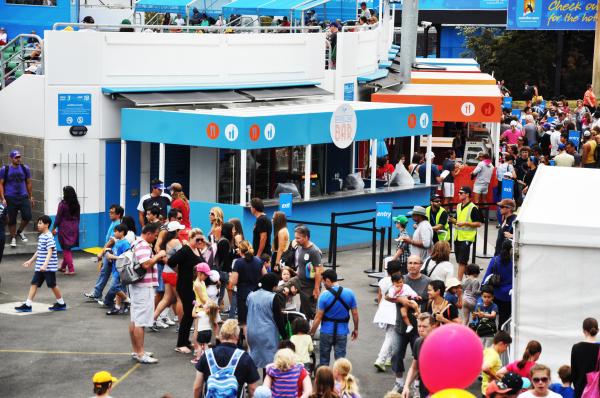 Australian Open Kiosks - Melbourne, Australia