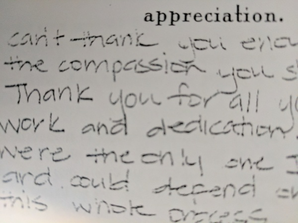 A police officer's legacy—as told in letters of thanks