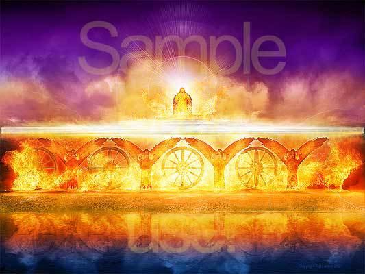 Vision, G-D, sapphire throne, River Chebar