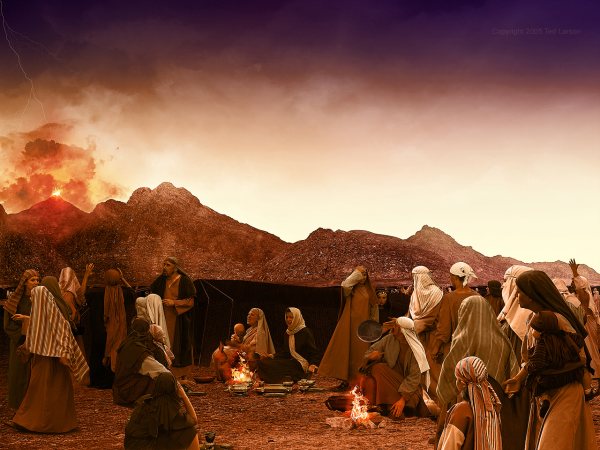 Mount Sinai, Israel, Camp, Burning Bush, G-D, Yahweh