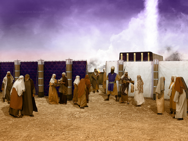 Levites, Tabernacle, Glory, Shekinah, G-D, Yahweh, Worship