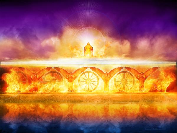 Chariot, Merkavah, Lord, Vision, Glory, Ezekiel, River Chebar, Cherubim, Sapphire Throne