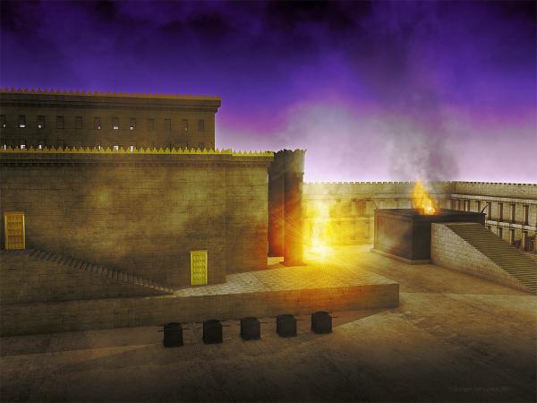 Vision, Shekinah, Glory, Lord, G-D, temple, departs