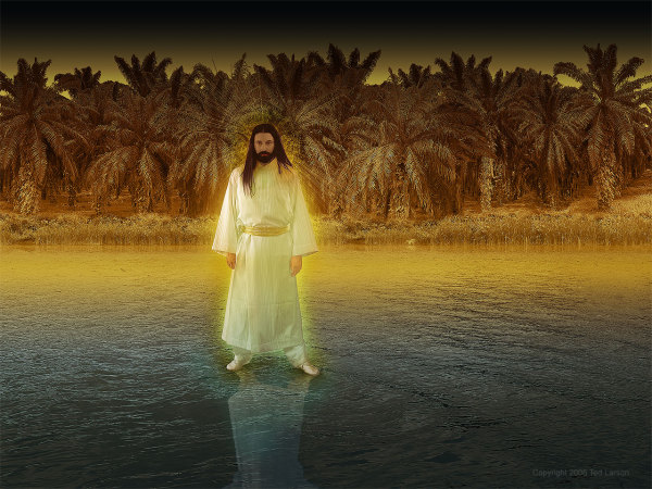 Vision, man upon the waters, Jesus, angels, Tigris River, Daniel, prophecy