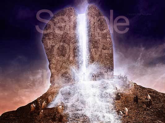 Moses, G-D, Horeb, rock, Exodus
