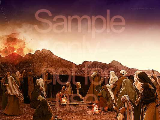 Moses, G-D, Israel, Mount Sinai, Exodus
