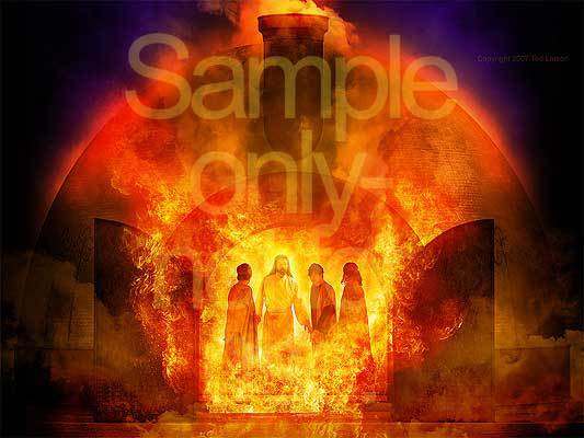 G-D, Daniel, prophecy, four in the furnace, Meshach, Shadrach, Abednego