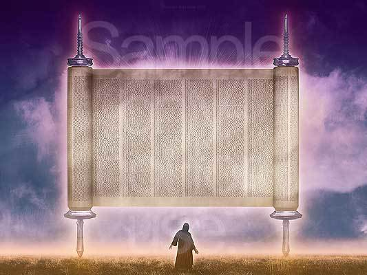 Zechariah, Flying scroll, G-D, prophecy