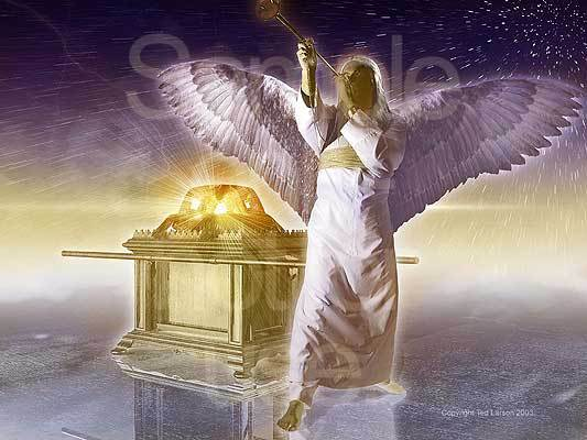 Angel, trumpet, Revelation, Ark of the covenant, prophecy