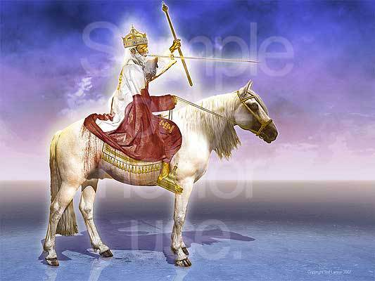 Revelation, Jesus, King of Kings, Lord of Lords, white horse, scepter