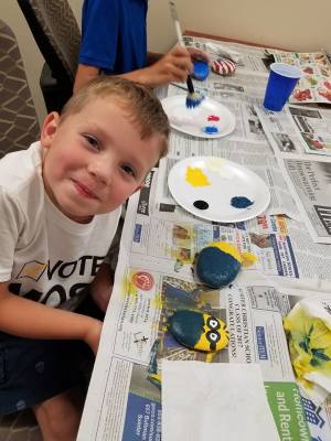 Flash Mob Rock Painting Party by Palmetto Optimist Club