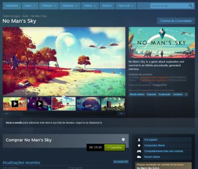 Steam proibirá screenshot de fora do jogo nas lojas
