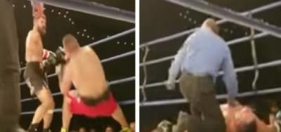 Lutador morre após nocaute ao vivo e vídeo choca o mundo