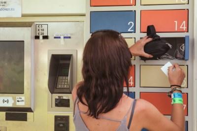 Phone Charging in Locker