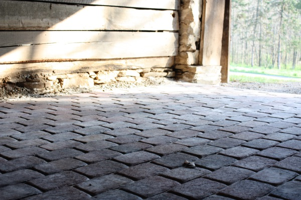Paver Floor