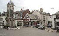rhayader town centre near valley view rhayader