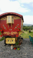 """Rosie"" Gypsy caravan for Holidays, weekend breaks, midweek breaks in mid wales powys Rhayader"