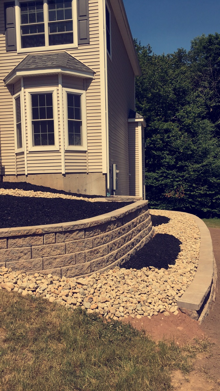 Two Tiered Retaining Walls