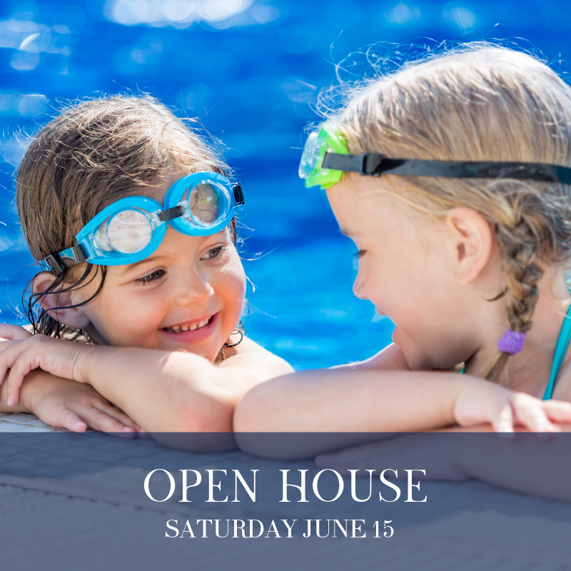Open House: Saturday June 15