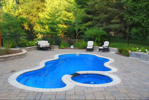 Inground swimming pools and hot tubs