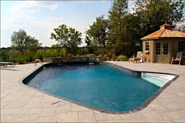 Custom residential inground swimming pools guelph