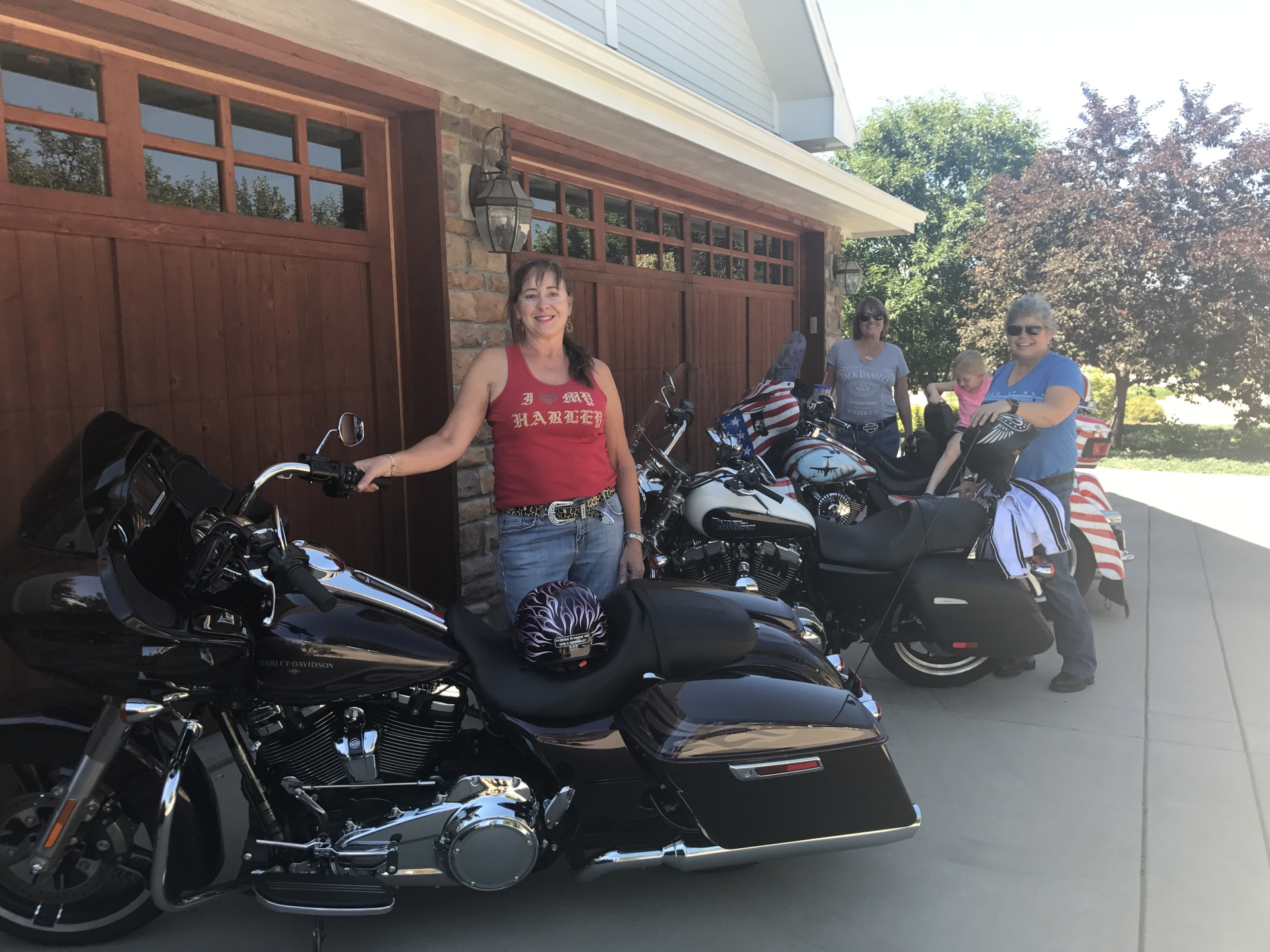 Some of our members with their Motorcycles
