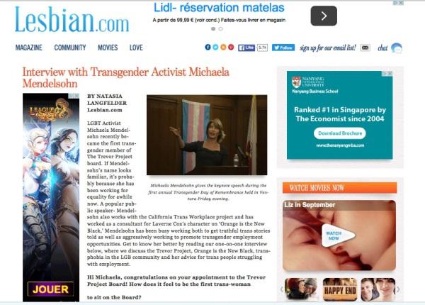 Lesbian.com - January 07, 2016