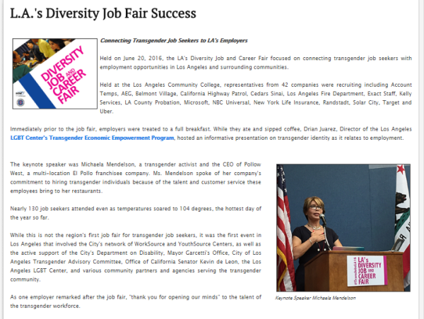 LA Diversity Job Fair - June 20, 2016