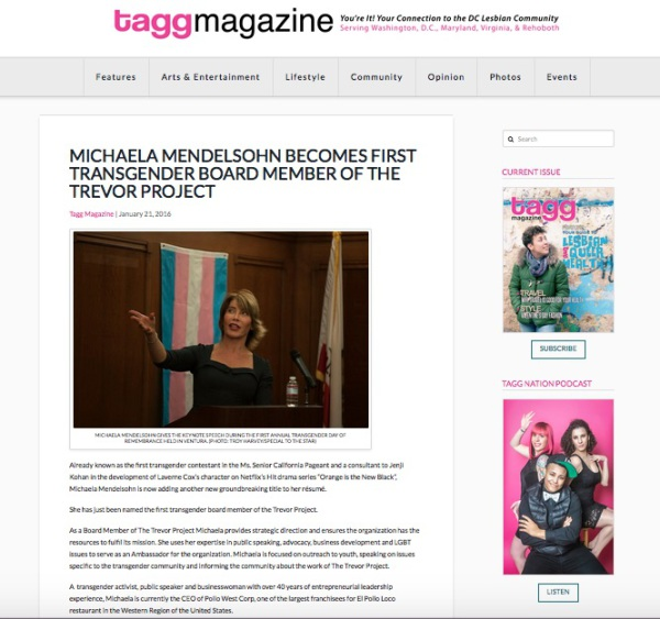 January 21, 2016 Tagg Magazine