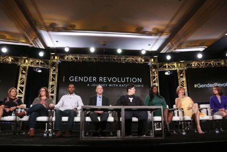 Michaela Speaks - Panelist for Nattional Geographic Gender Revolution with Katie Couric