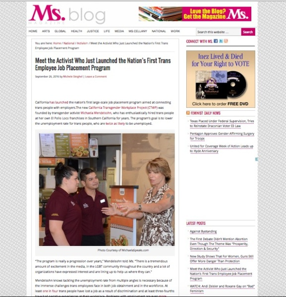 Sep 26, 2016: Ms Magazine