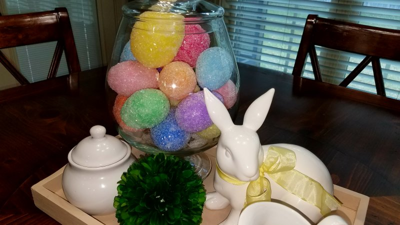 DIY Large Jelly Bean Easter Eggs