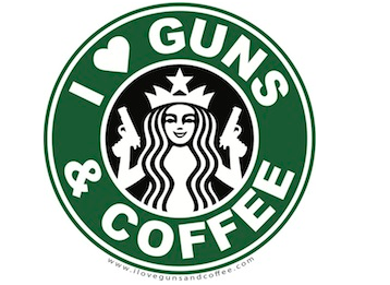 I Heart Guns and Coffee