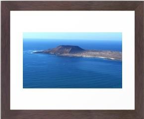 Volcanic Mountain, Isle, Ocean, Landscape, shore, coast