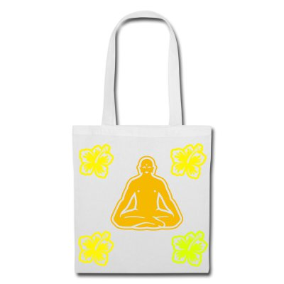 Tote Bag, Mind and Body, 100% Cotton, Digital Prints
