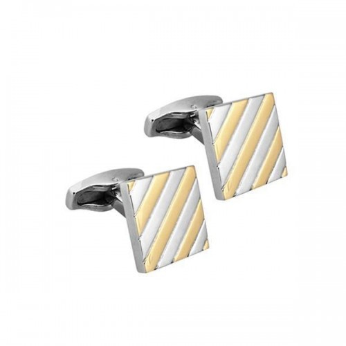 Square Stainless Steel Cuff links