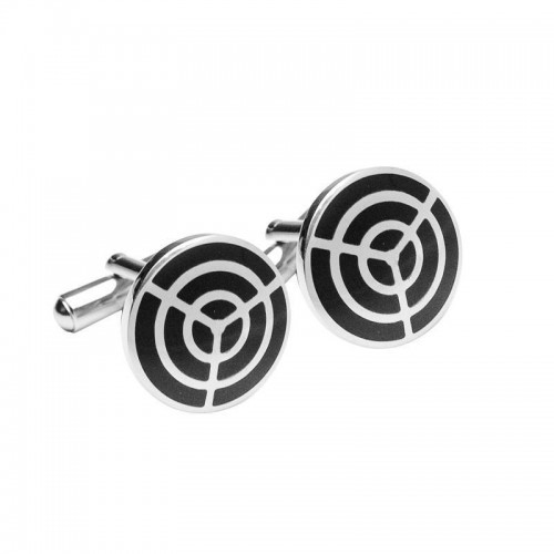 Target Stainless Steel Cuff links