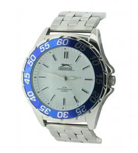 SLAZENGER SLZ158B MEN'S STAINLESS STEEL BRACELET SPORTS WATCH