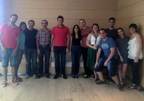 August 2016 - Dani visits IMDEA Materials (Getafe, Spain)