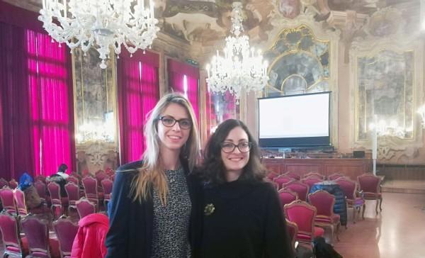 Feb 2018 - Marina & Eva @ workshop in Venice