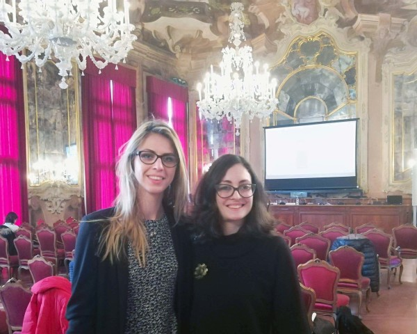 Feb 2018 - Marina & Eva @ Workshop in Venice