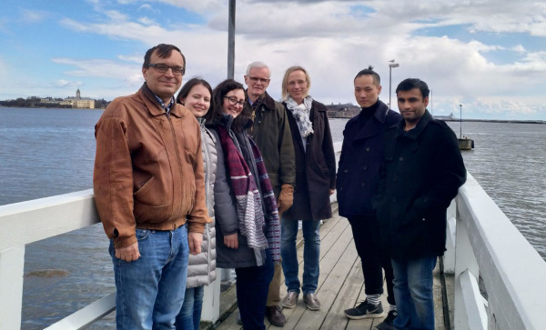 Apr 2018 -Eva returns from Finland