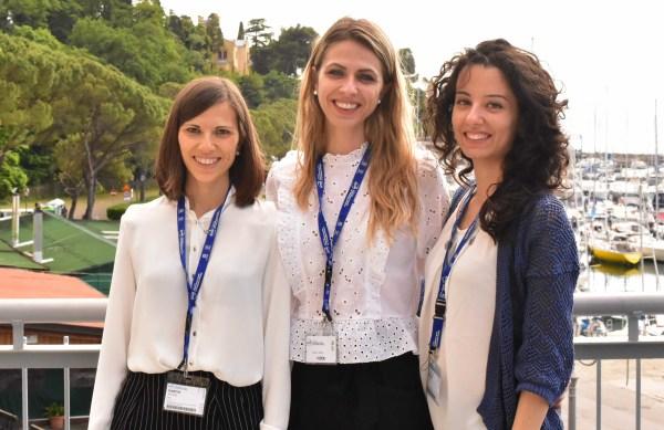 May 2018 - Ana, Marina & Cristina give talks at international Conference