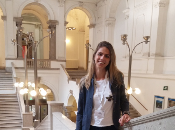 June 2018 - Marina wins Scholarship for Advanced Spectroscopy School in Vienna- congrats!