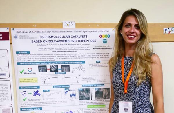 June 2018 - Marina presents at the School CORBELLA