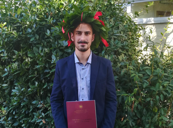 Sep 2018 - Gabriele's graduation!