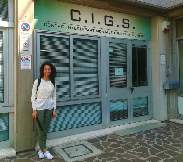 Sep 2018 - Cristina goes to SISM Microscopy School in Modena