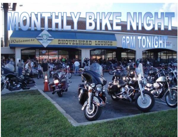 Shovelhead Monthly Bike Party